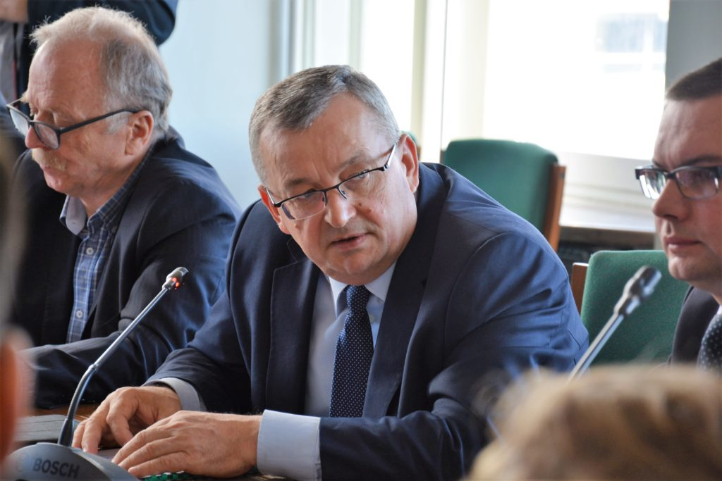 Andrzej Adamczyk Minister Infrastruktury